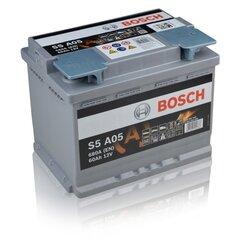 Akumulators Bosch 60Ah 680A S5A05