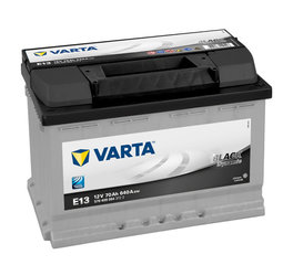 Akumulators VARTA BLACK 70AH 640A E13