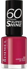 Nagu laka Rimmel 60 Seconds Super Shine 8 ml