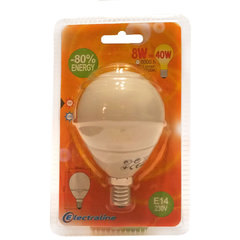 Энергосберегающая лампочка Globe Mini E14, 8W