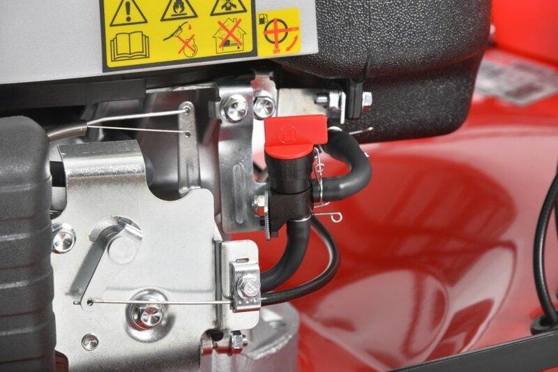 Бензиновая газонокосилка- самоходная  Hecht 5564 SXE 5in1
