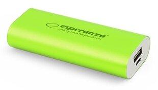 Powerbank Esperanza 4400mAh lādētājs Zaļš