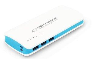 Powerbank Esperanza 8000mAh (Zilā krāsā)