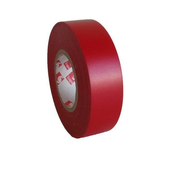 Izolācijas lente SCAPA 15/10 sarkana PVC (2701)