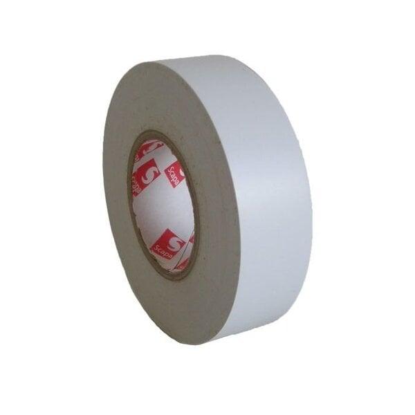 Izolācijas lente SCAPA 15/10 balta PVC (2702)