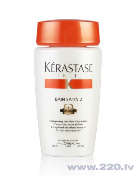 Šampūns Kerastase Nutritive Bain Satin 2 Irisome 250 ml