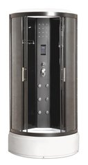 Hidromasāžas dušas kabīne Breezz Royal LUX WZ cena un informācija | Hidromasāžas dušas kabīnes | 220.lv