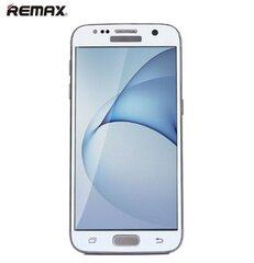 Remax Ultra Plāns Ekrāna aizsargstikls 9H priekš Samsung G930F Galaxy S7 3D Balts