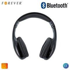 Forever BHS-200 Universālas Bluetooth Bezvadu Stereo Austiņas ar FM Radio / Micro SD un Telefona Zvana Funkciju Melnas