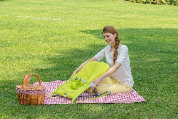 Bērnu šūpuļkrēsls Chicco Pocket Relax Green