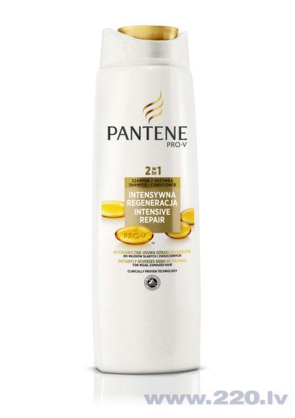 Šampūns bojātiem matiem Pantene Repair & Protect 2in1, 400 ml