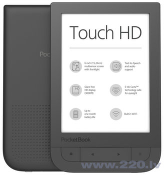PocketBook Touch HD Melns
