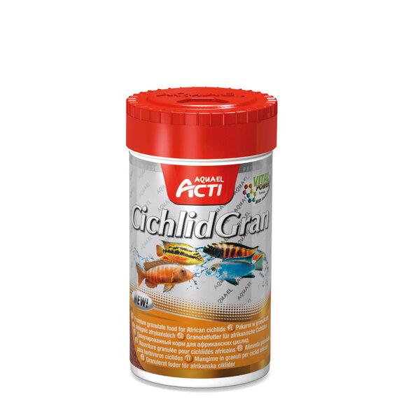 "Zivju barība Aquael Acti ""CichlidGran"" cihlid zivju sugām granulās 1000ml"