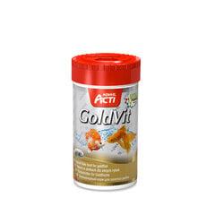 "Zivju barība Aquael Acti ""GoldVit"" zelta zivtiņām 1000ml"