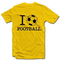 "T- krekls ""I love football"""