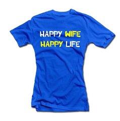 """Sieviešu krekls """"Happy wife"""""""