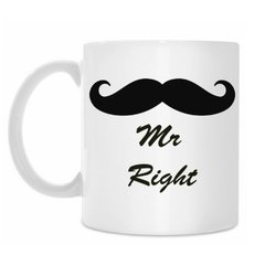 "Кружка ""Mr right"""