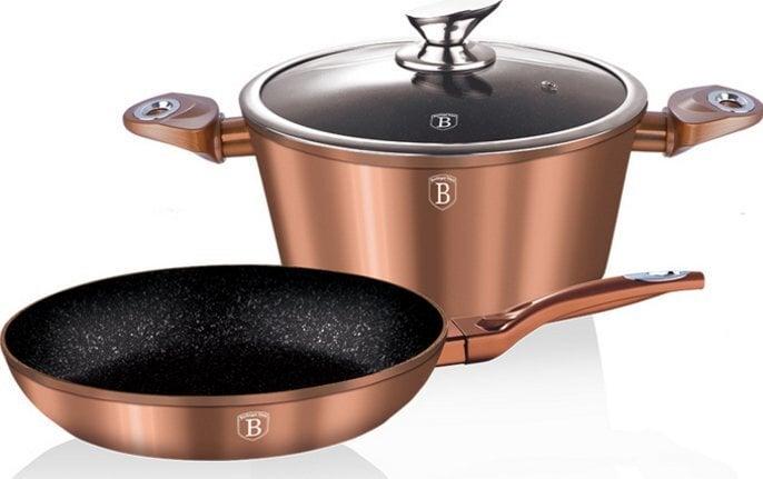 Komplekts Berlingerhaus Copper Metallic Touch Line, 3 daļas