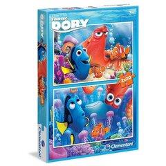 Puzle Clementoni Meklējot Doriju (Finding Dory), 2x20 gab. cena un informācija | Puzles, 3D puzles | 220.lv