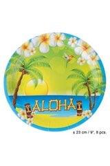 Šķīvji Havaju svētki