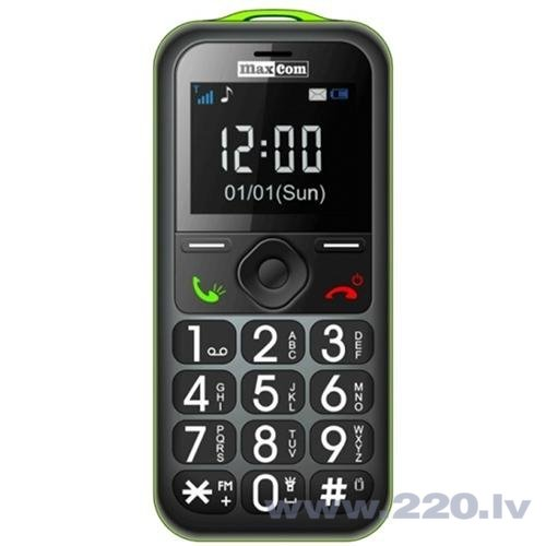 Maxcom MM560BB Black/Green ENG