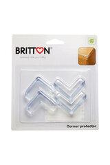 Stūru aizsargi BRITTON, 4 gab. cena un informācija | Bērna drošība | 220.lv