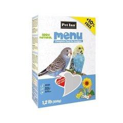 Barība Pet Inn jumta papagaiļiem 500g + 50g
