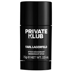 Dezodorants Karl Lagerfeld Private Klub 75 ml