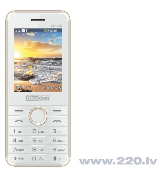 Maxcom MM136 Dual White