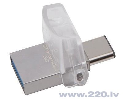 Kingston 128GB DT microDuo 3C USB3.0/3.1 + Type-C