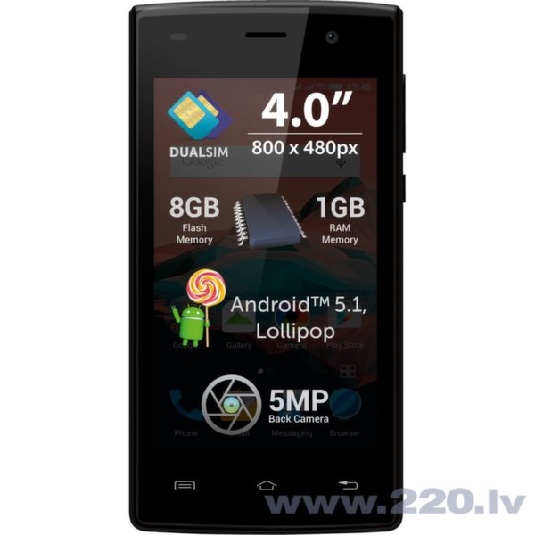Allview A5 Ready Dual Black