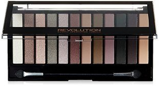 Acu ēnu palete Makeup Revolution London Romantic Smoked 14 g