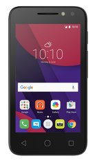 "Alcatel Pixi 4 (4"") Dual Black"