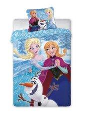 Gultas veļas komplekts Frozen, 2 daļas cena un informācija | Bērnu gultas veļa | 220.lv