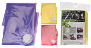 Vakuuma drēbju maiss, 60x80 cm cena un informācija | Pakaramie un apģērbu maisi | 220.lv