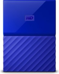 WD My Passport 2.5'' 1TB USB 3.0 Blue