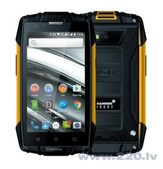 myPhone IRON II Black/Yellow (Черный/Желтый) (LV/RU)