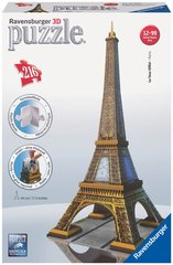 3D пазл Ravensburger Eiffel Tower, 216 деталей