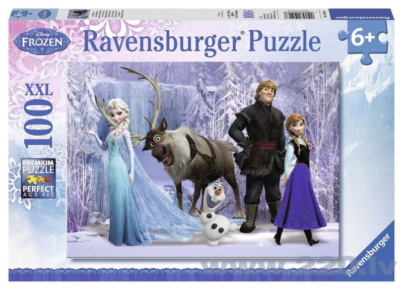 Пазл Ravensburger In the Realm of the Snow Queen Холодное сердце (Frozen) 100 деталей, 105168