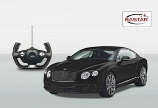 Radiovadamās mašīnas modelis Rastar, Bentley Confinental GT Speed 1:14, 49800