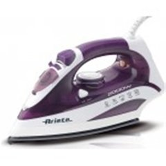 Ariete Steam Iron A6235 Purple, 2000 W, Anti-drip function, Vertical steam function   cena un informācija | Gludekļi | 220.lv