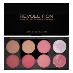 Vaigu sārtumu palete Makeup Revolution London Ultra Blush 13 g