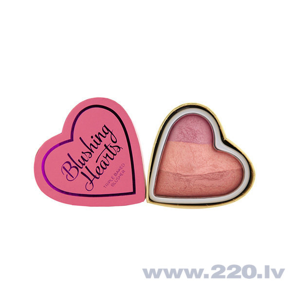 Vaigu sārtumi Makeup Revolution London Blushing Hearts 10 g
