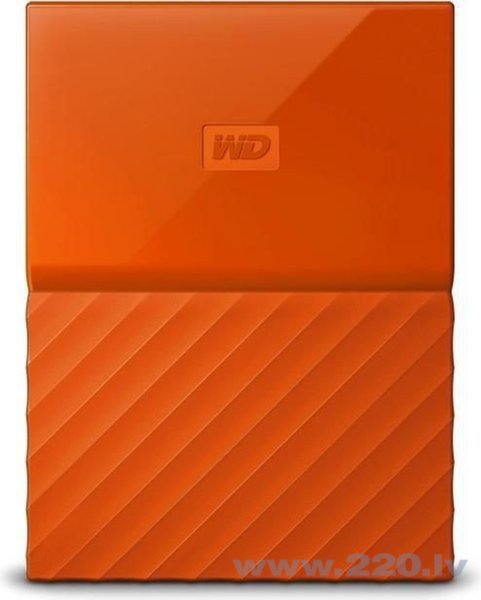 External HDD WD My Passport 2.5'' 4TB USB 3.0 Orange
