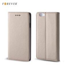 Forever Чехол-книжка с магнитной фиксацией для мобильного телефона Huawei P8 Lite, Золотистый