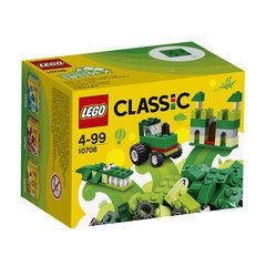 10708 LEGO® Classic Green Creativity Box Zaļā kaste