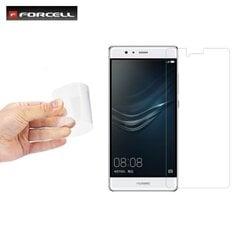 Ekrāna aizsargstikls Forcell Fleksibls 9H Hybrid Premium priekš Huawei P9 cena un informācija | Ekrāna aizsargplēves | 220.lv