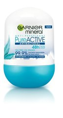 Dezodorants Garnier Pure Active 50 ml