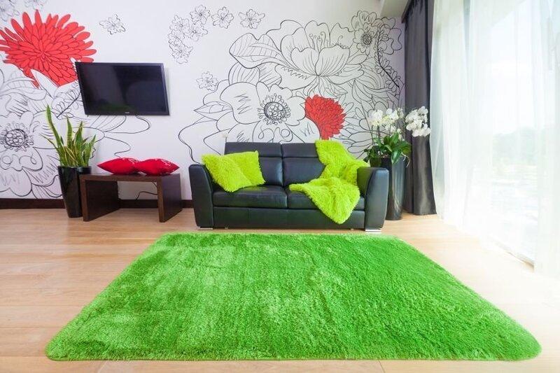 Bērnu plīša paklājs Shaggy, 120x170
