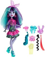 Lelle Monster High Electrified Monstrous Hair Ghouls Twyla, DVH69, 1 gab.